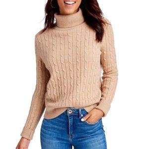 Vineyard Vines heathered turtle neck sweater